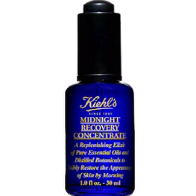 Kiehl's midnight recovery oil....