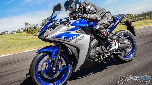 Chega ao Brasil a pequena esportiva Yamaha YZF-R3