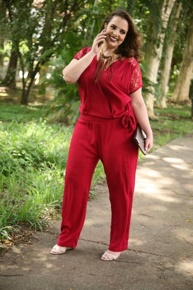 K. Modê Fashion Size - Macacão Plus Size