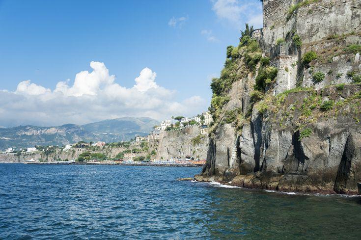 Italy Sorrento Coastline