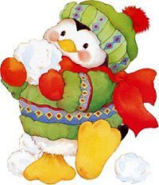 Christmas penguin: