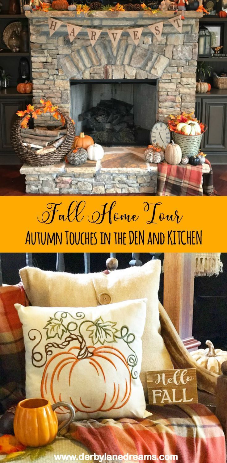 Cheap And Easy Ways To Decorate Your Home For Fall Using Items That You Already Have Tour Of The Den Kitchen
