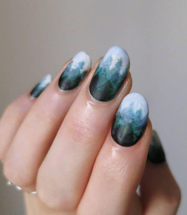 17 Best Ideas About Cool Nail Art On Pinterest