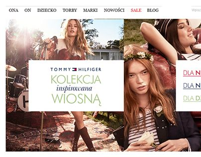 """Check out new work on my @Behance portfolio: """"Tommy Hilfiger - email campaign - Riccardo.pl"""" http://on.be.net/1d1i3QX"""