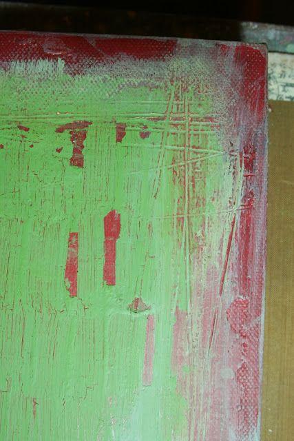 PaperArtsy: Джо Myhill Проект № 3 Decayed окрашенные стены ....