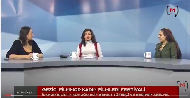 Medyascope ///  Sinemasalı (6): Berivan Akelma & Elif Benan Tüfekçi ile Filmmor Gezici Kadın Filmleri Festivali