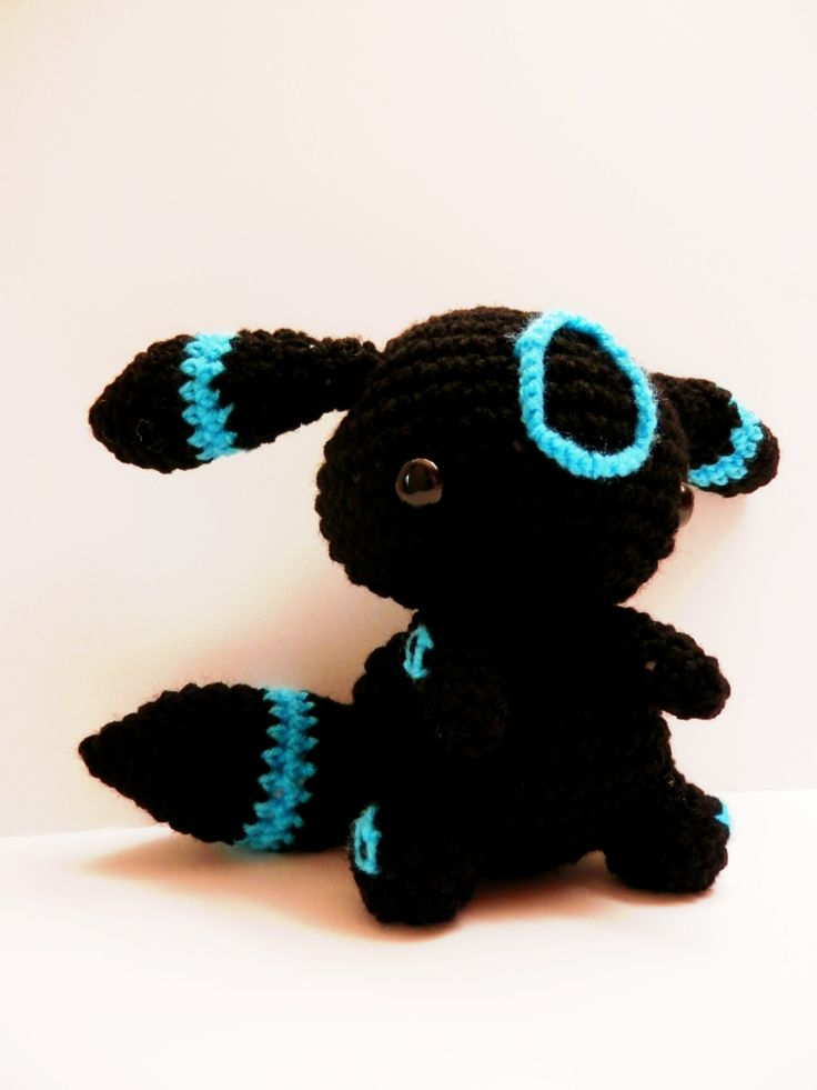 Crochet Umbreon Pokemon Adopt from my shop! https://www.etsy.com ...