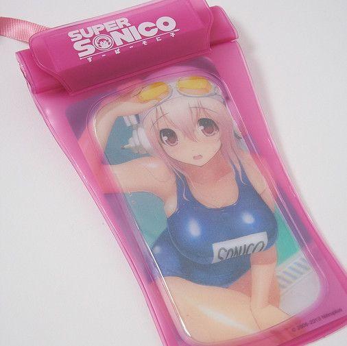 Super Sonico Waterproof Smartphone Case