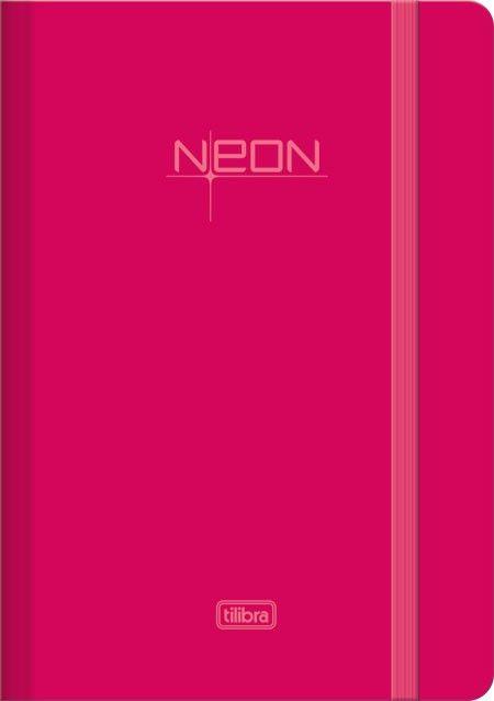 Tilibra - Produtos - Caderno e Caderneta - Caderneta - Caderneta Costurada com Elástico Neon