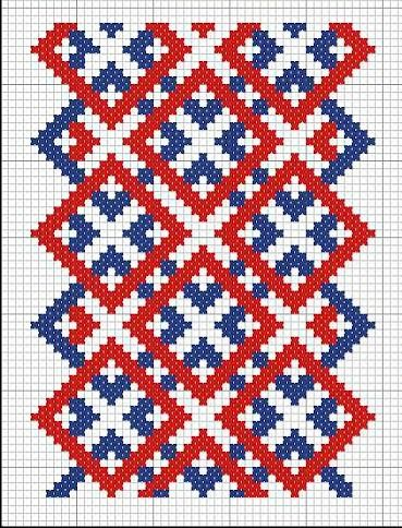 Russian cross stitch pattern. #Russian #patterns