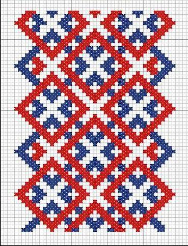 Russian cross stitch pattern. #Russian #patterns