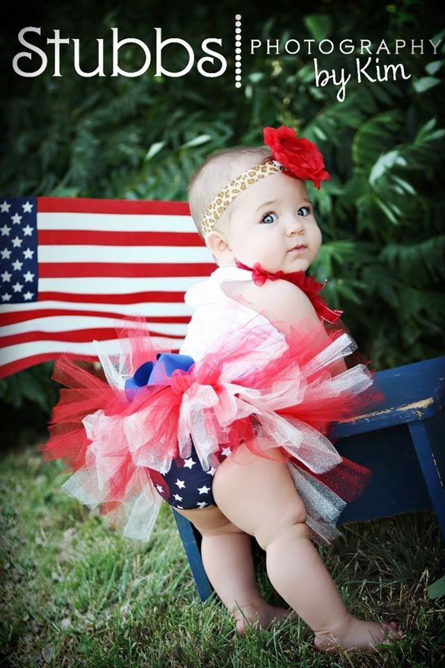 July 4th baby, reminds me of my baby picture, this is a must for our future baby girl :)
