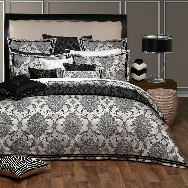 Corsica Ink Bed Linen by Davinci from Harvey Norman NewZealand