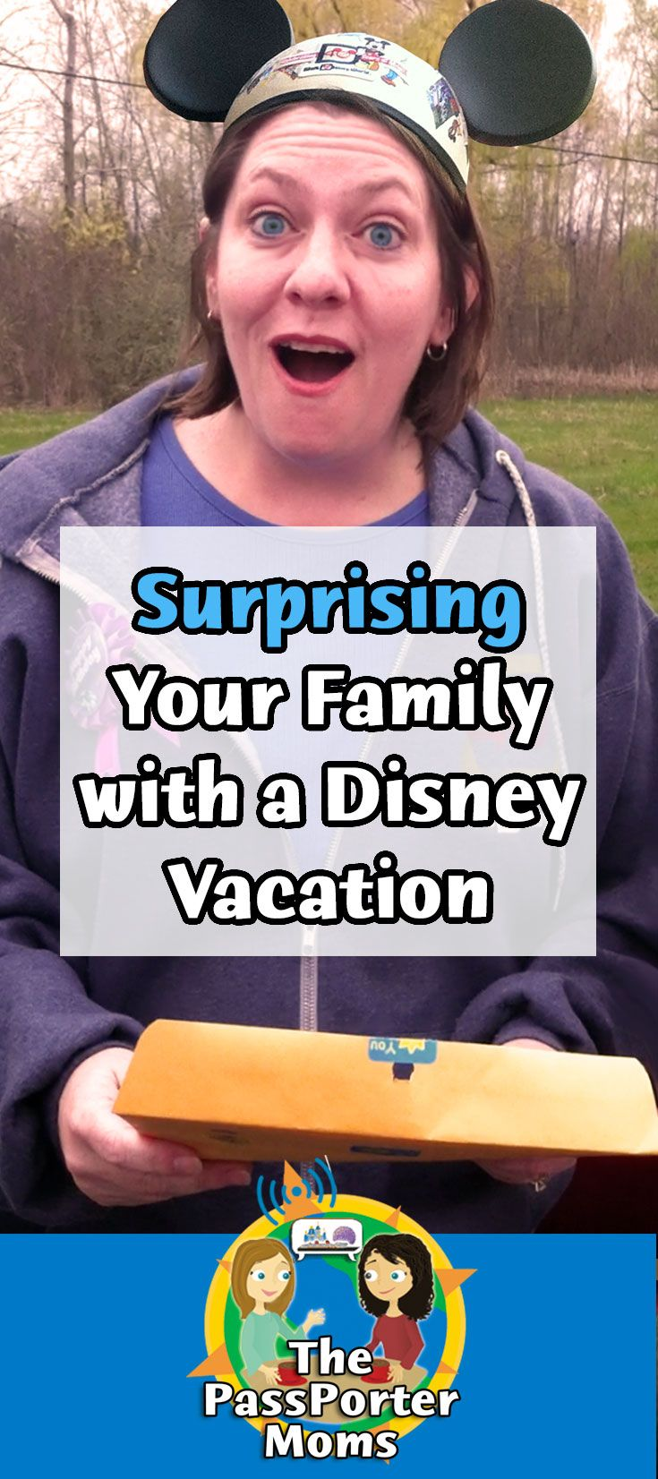 Surprising Your Family With A Disney Vacation | Disney Every Week With the PassPorter Moms Podcast