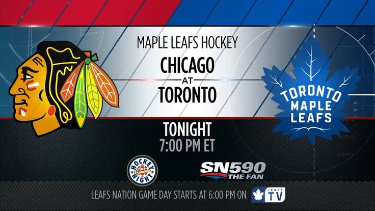 Maple Leafs Game Preview: Chicago at Toronto - March 18, 2017
