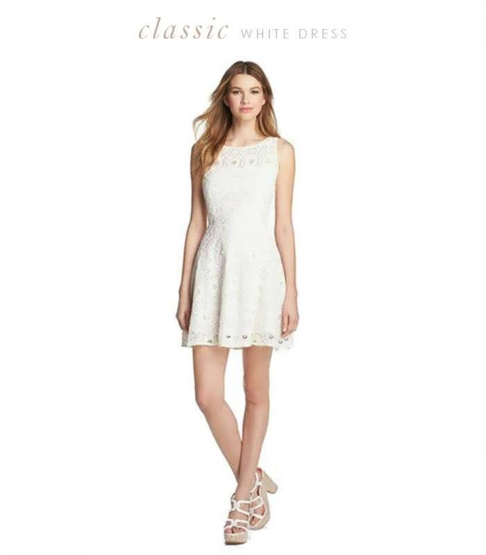 White Bridal Shower Dresses For The Bride