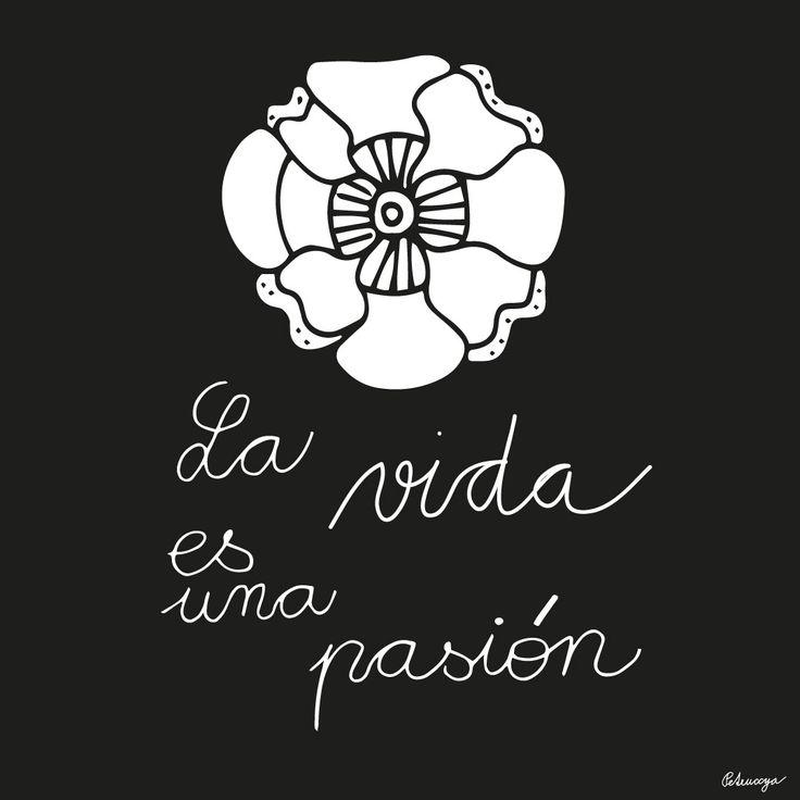 VIda es una pasión by Petruccya