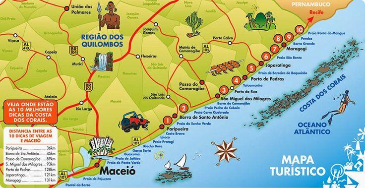 JULIANO TURISMO (traslado em Maceió Alagoas): LITORAL NORTE DE ALAGOAS