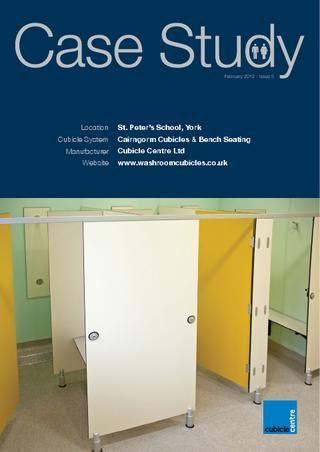 Cubicle Centre Washroom Case Study - St. Peter's School, York
