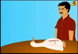 The goose that laid the golden egg - Ramu kills the goose