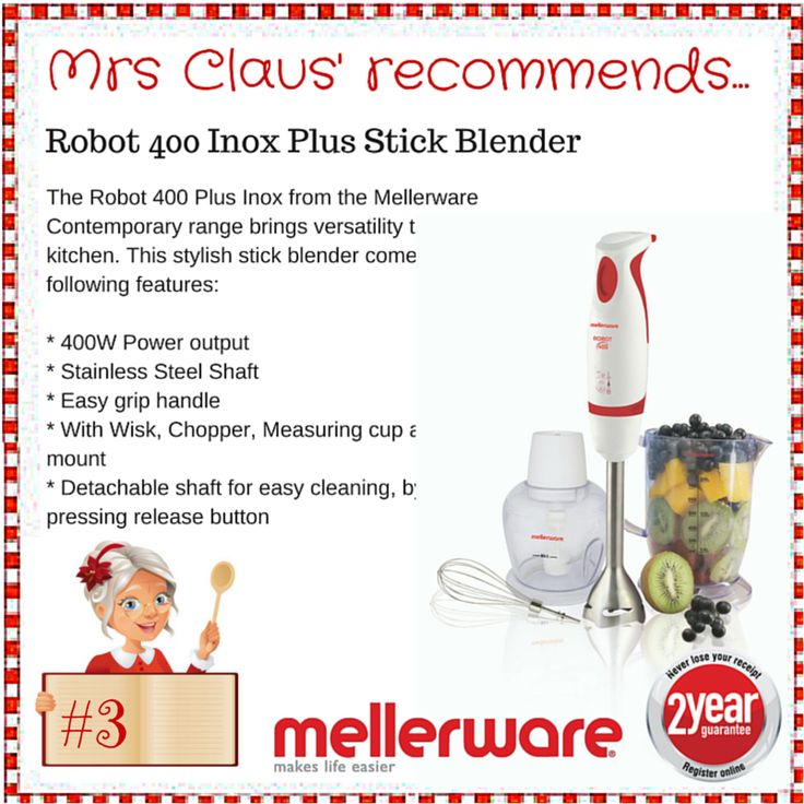 Day 3 - Robot Stick Blender Inox Plus