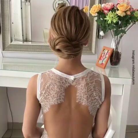 Straightforward coiffure for any event! #DIY Coiffure for Lengthy Hair 2019