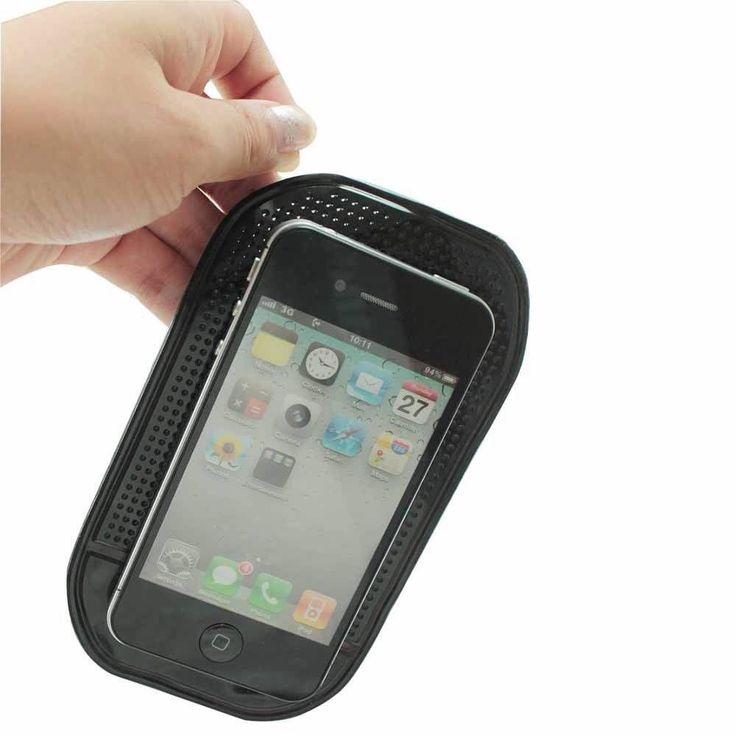 FIVE Black Anti-Slip Car Dashboard Sticky Pads Non-Slip Mats for iPhone, Remote# #UnbrandedGeneric