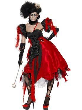 Queen of Hearts Broken Costume
