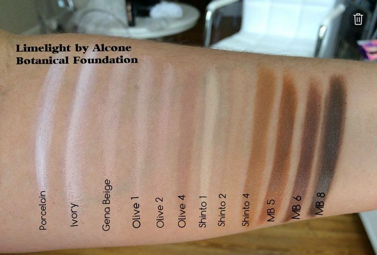 Limelight By Alcones Botanical Foundation Paraben Free