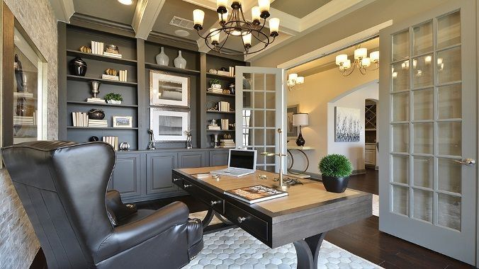 Pin By Bb On House Indoors Home Office Design Home Office Decor Home Office Furniture