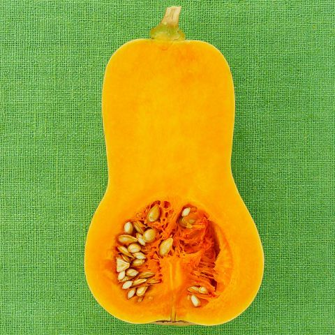 """Here's one good reason to look forward to the colder months: """"Winter squash (think butternut, acorn, and even pumpkin) is an excellent source of fiber, which helps speed up digestion and avoid bloating,"""" explains Orsoni. Recent studies have also shown that squash contains insulin-regulating components that also support sugar metabolism. Not to mention squash is loaded with a B-vitamin-like compound that helps regulate blood sugar, helping our body to store less sugar in the form of fat…"""
