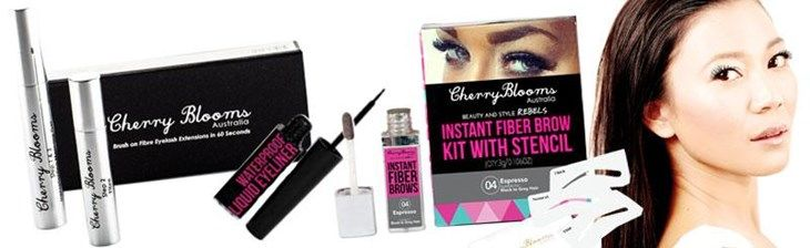 Cherry Blooms beauty products