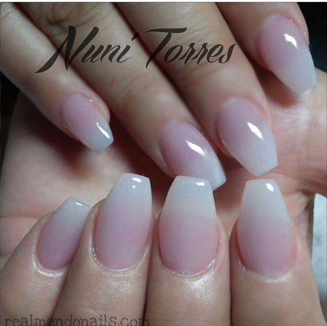 Nail Shapes: Love The Simple Ombré