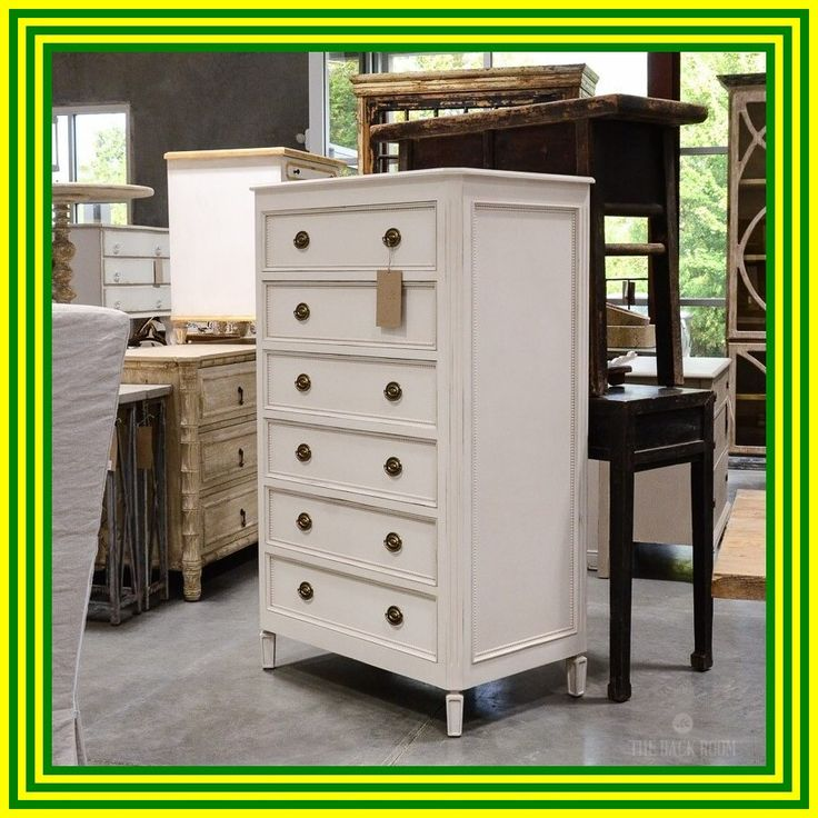 60 reference of 6 drawer dresser white tall in 2020