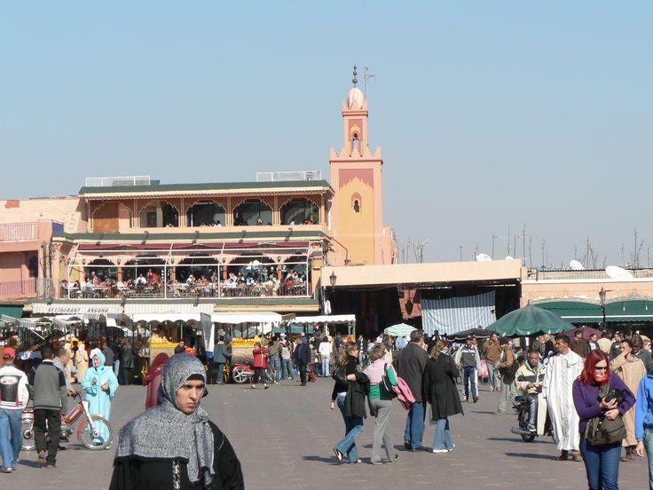 Marrakech plaza de la Kutubía