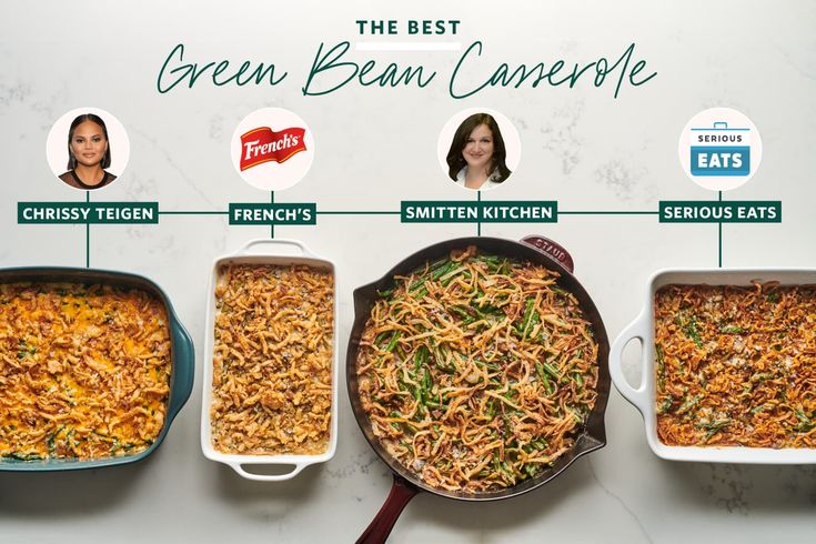 We Tested 4 Famous Green Bean Casserole Recipes And Found A Clear Winner Greenbean Casserole Recipe Smitten Kitchen Green Bean Casserole