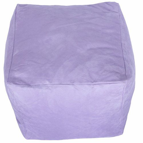 Faux Suede Light Lilac Purple Foot Stool Rest Pouffe Cube Bean Bag with Filling Bean Bag Warehouse http://www.amazon.co.uk/dp/B006FWNEBY/ref=cm_sw_r_pi_dp_ZsTmvb0R2XV0F