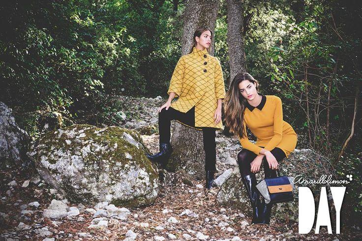 El color mostaza es un top en las tendencias de este año...Para hoy te proponemos el abrigo Grace y el vestido Charlotte! Con cuál te quedas?