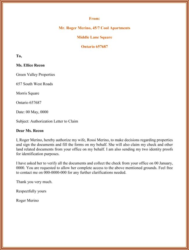 authorization letter sample printable formats bank for cash - sample bank authorization letter