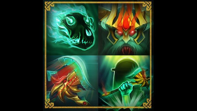 King of the North (Custom Ability Icons) - Wraith King