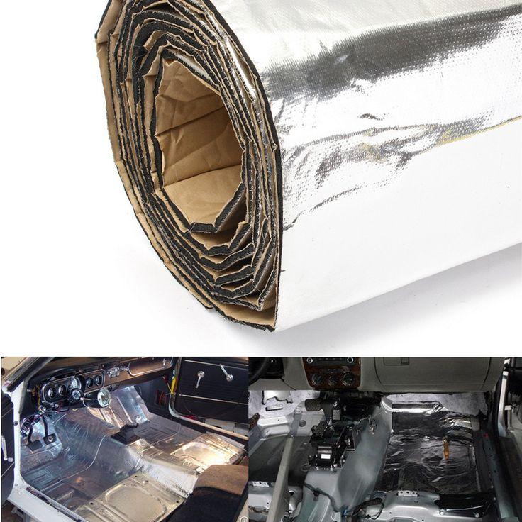 300x100cm Firewall Sound Deadener Car Heat Shield Insulation Deadening Material Mat Sale - Banggood.com