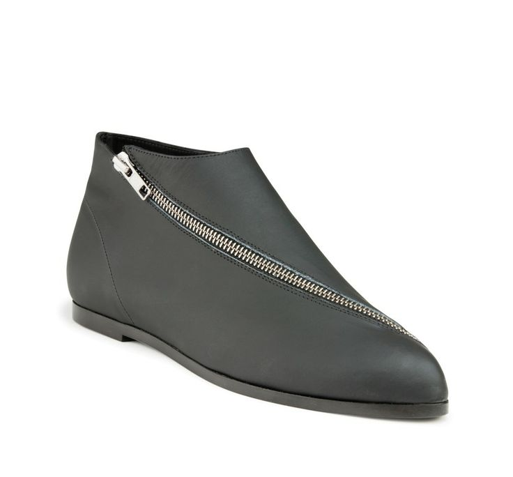 Zixi Black Ankle Shoes