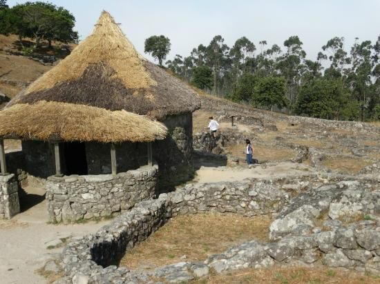 Santa Tecla Celtic Village, Spain. Dating from at least the 2nd to 1st centuries BC.