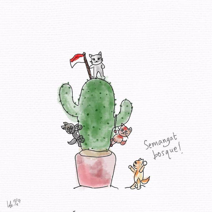 Tini sama gengnya, si Oren, Tomat, sama Kumbang paling suka olahraga panjat tanaman. Ya gapapa asal jangan pagar makan tanaman...bentar lagi jadi pacar eh ditikung teman.