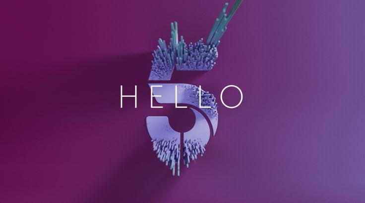Channet 5 rebrands Equalizer_Hello