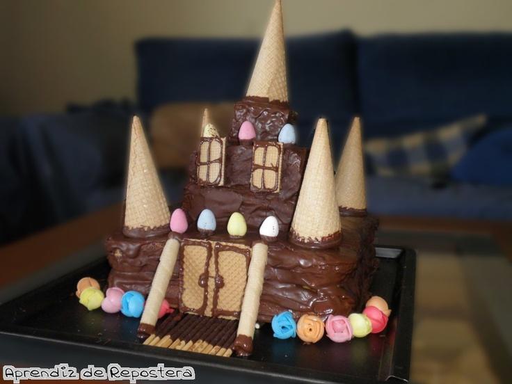 Aprendiz de Repostera: Tarta Castillo de Chocolate