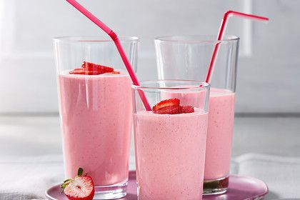 Erdbeer - Milchshake