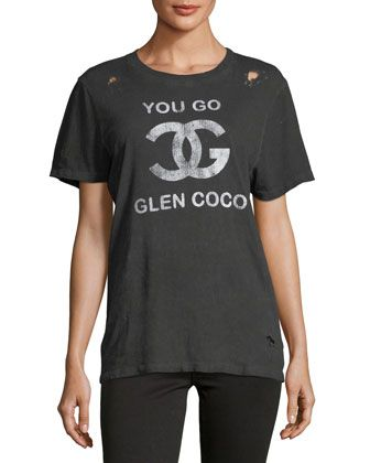 Mean+Girls+You+Go+Glen+Coco!+Short-Sleeve+Tee+by+Prince+Peter+Collection+at+Neiman+Marcus+Last+Call.