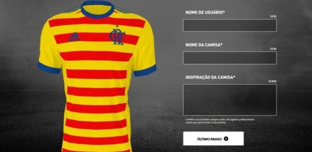 Campanha permite torcida fazer uniforme de Fla, Real, Juve e outros grandes