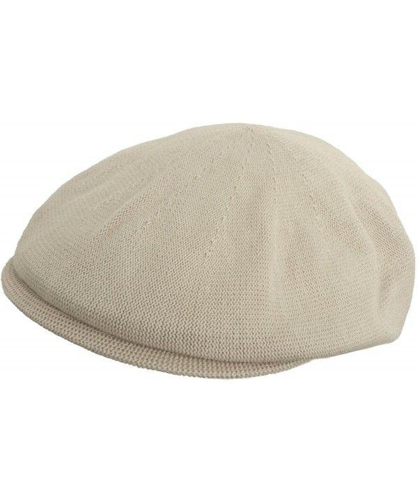 7b9871268 100% Cotton Knit IVY Flat Hat Ventair Summer Scally Driving Cap ...
